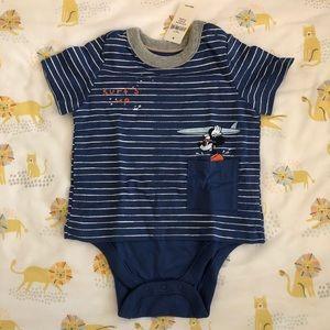 GAP x Disney Mickey Mouse T-shirt onesie
